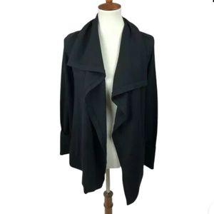 Eddie Bauer Merino Wool Blend Cardigan Sweater S